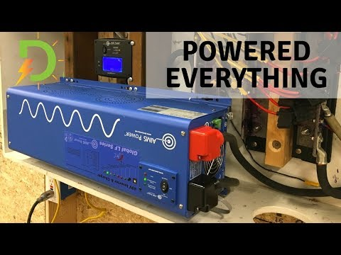 Inverter Upgrade! Reliable to Aims in Off-Grid System