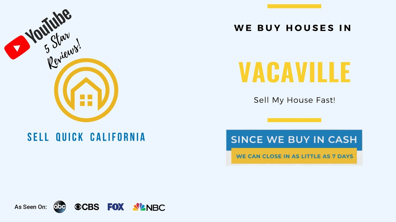 We Buy Houses In Vacaville California [Real Estate Investor Property Walk Through]