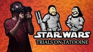 Instant Replay Vive - Star Wars: Trials on Tatooine VR - Fear Leads to Cannibalism w/ KrakenQuake