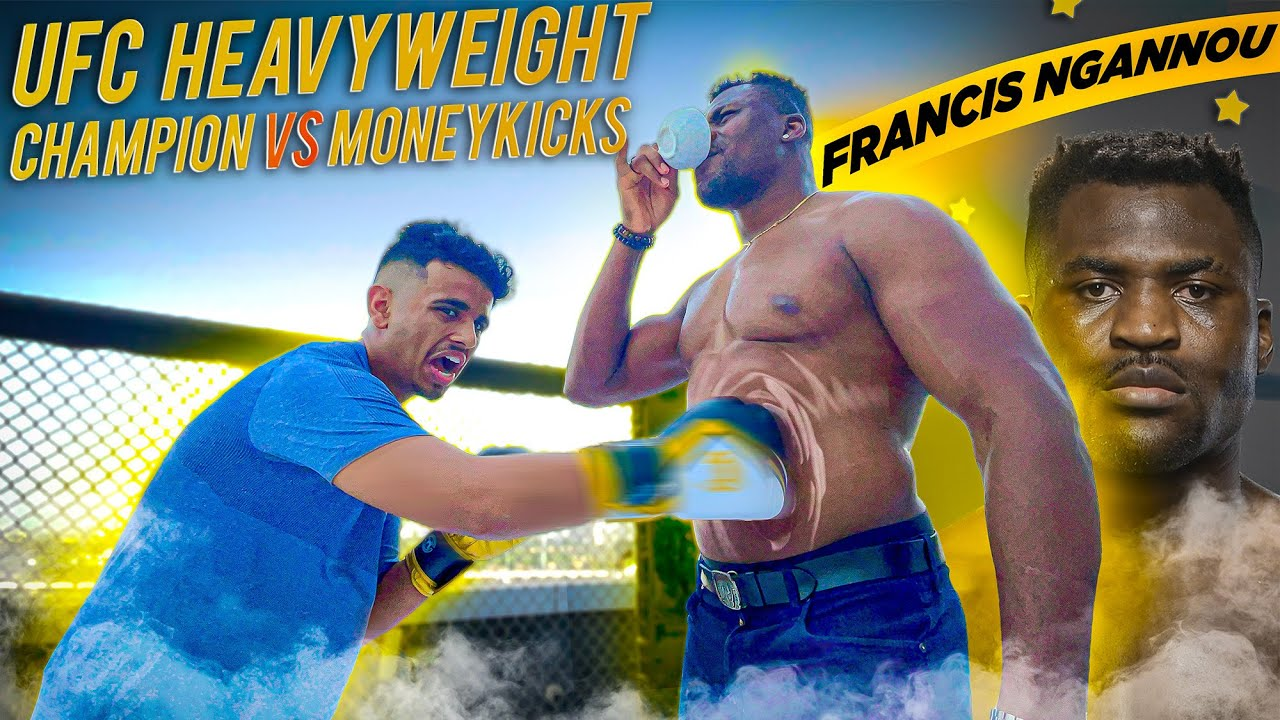 GOT PUNCHED BY UFC CHAMPION *FRANCIS NGANNOU *