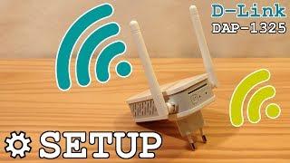 Д-Лінк ДАП-1325 по Wi-Fi розширювач • розпакування, установка, налаштування, тест