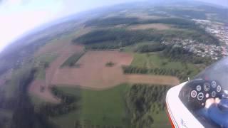 F Schlepp Seagull Pilatus B4 mit Kunstflug