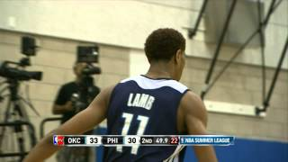 Oklahoma City Thunder vs Philadelphia 76ers Summer League Recap