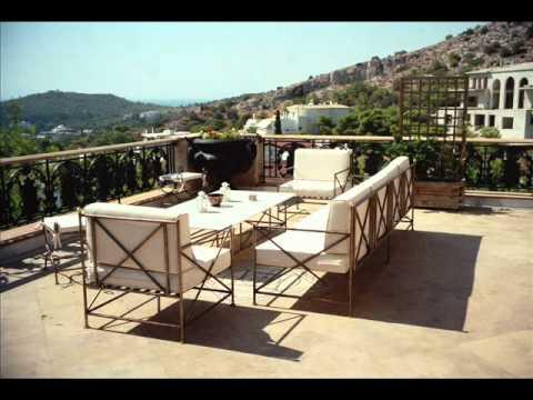 Muebles terraza Alicante Mesas de jardín Sevilla - YouTube