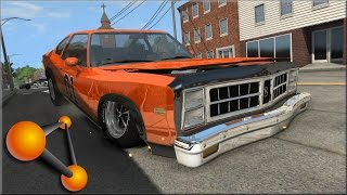 BeamNG Drive Dukes of Hazzard Crashes, Jumps & Stunts #1 - Insanegaz