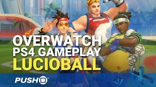 Overwatch Scores Rocket League-Inspired Rio 2016 Olympic Games Mode | PS4 Gameplay | Lucioball