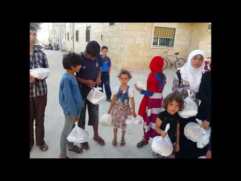 DAY 6 DAILY IFTAR MEALS IN SYRIA RAMADAN 2016