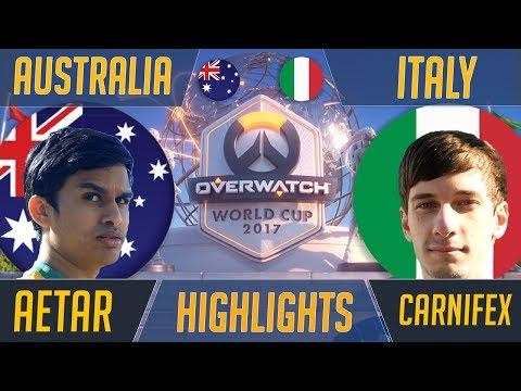 Australia Vs Italy   Overwatch World Cup 2017 Sydney Highlights
