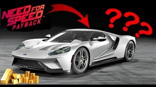 NFS Payback custom Ford GT bling bling