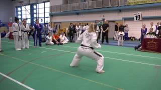 2016 TAGB Welsh Taekwondo Championships Chloe Lock Se Jong
