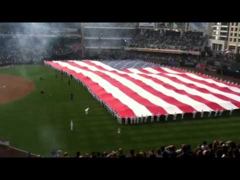 Padres Opening Day 2012