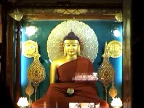 Inside Mahabodhi Main Temple