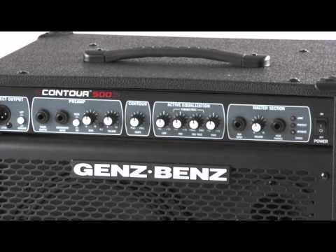 genz benz contour 500 bass amp combo youtube. Black Bedroom Furniture Sets. Home Design Ideas