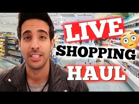 LIVE SHOPPING HAUL | Ihr entscheidet und ich kaufe ein | Sami Slimani