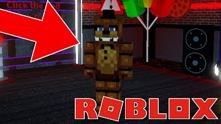 How to become MINECRAFT FREDDY in Roblox! Roblox FNAF RP Minecraft Animatronics! Minecraft FNAF!
