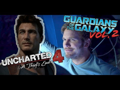 Uncharted 4  A Thief's End Intro (Guardians of the Galaxy Vol 2 style!)