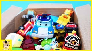 Car Toys SuperWings Open the box with Robocar Poli Unboxing play Toys Learn Color | MariAndKids Toys