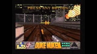 Duke Nukem: Total Meltdown (Playstation) - Demo Mode