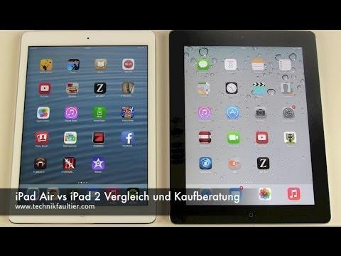 iPad Air vs iPad 2 Vergleich und Kaufberatung
