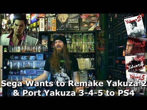 Sega Wants to Remake Yakuza 2 & Port Yakuza 3-4-5 to PS4 - AlphaOmegaSin