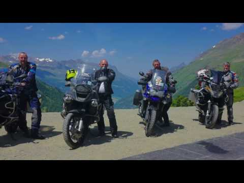 Adventure Motorcycle Touring in the Alps