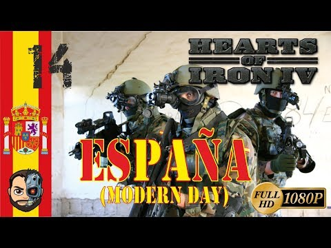 MAURITANIA RECLUTA MUCHAS TROPAS (España) T5#14 - HoI IV (Modern Day) - 1080p Gameplay en ESPAÑOL