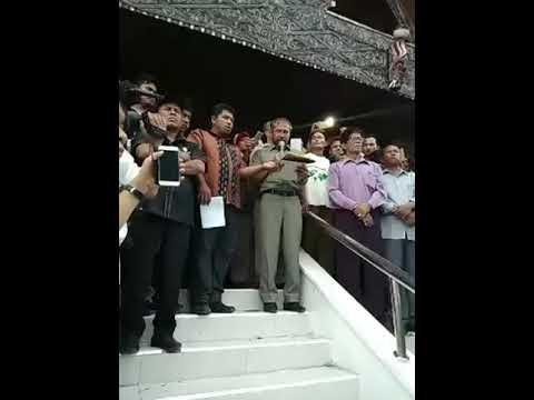 Pembacaan Keputusan DPRD Atas KECURANGAN PILKADA TAPUT 2018