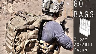 One of Garand Thumb's most viewed videos: Basics of Go Bags / 3 Day Assault Packs