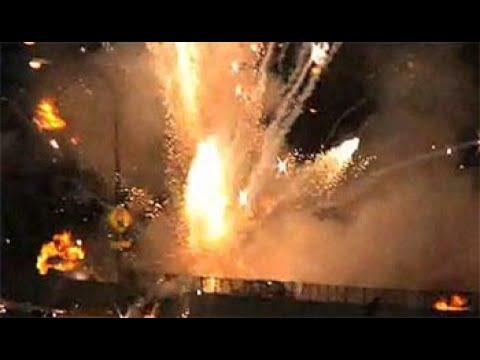 Iranian bombing on the US military base ain al Asad in irak