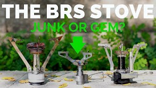 BRS Backpacking Stove (PUTTING IT TO THE TEST)