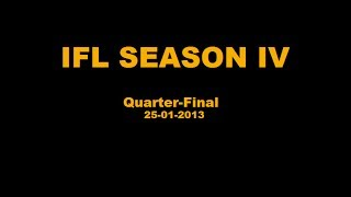 IFL Season IV - Quarter-Finals