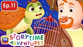 The Poacher and the Turtle King - Storytime Adventures Ep. 11 - ChuChu TV