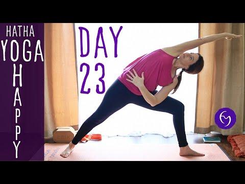 Day 23 Hatha Yoga Happiness: Get Creative!