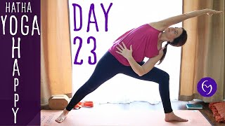 Day 23 Hatha Yoga Happiness: Get Creative!