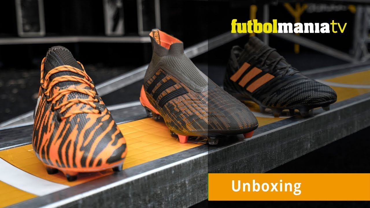 Adidas SalvajesPara Futbolmania Botas Los Pack Las Tv Lone Hunter Unboxing Más Decisivos 5Sc4AR3jLq