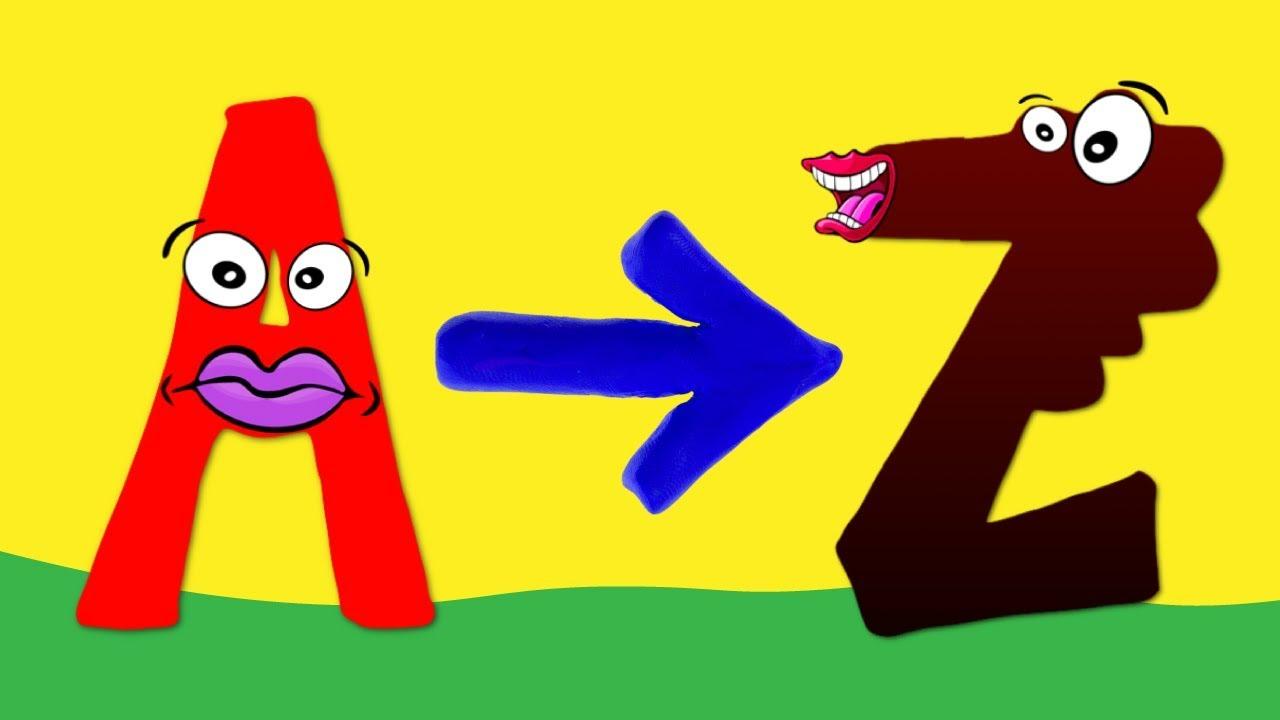 ABC Alfabe ile A'dan Z'ye Harfleri Öğreniyorum
