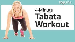 Full Body 4 Minute Tabata Workout