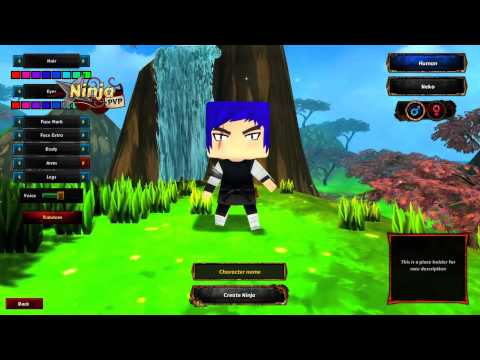 Ninja PVP Alpha 0.2.3 Preview