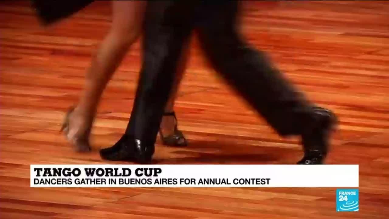 فرانس 24:It takes two to tango... Tango World Cup takes place in Argentina
