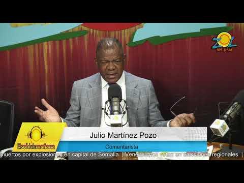 Julio Martinez Pozo comenta las conclusiones del asesinato de caso Yuniol Ramírez sorprenden