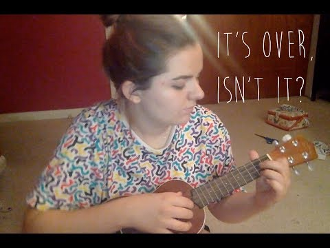It's Over Isn't It?  su ukulele cover  brooke bloom