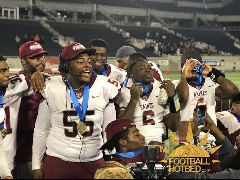 FHSAA State Championship 4A: Raines defeats Cocoa 13-10