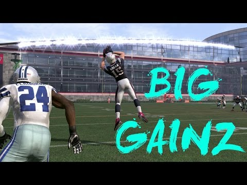 BIG GAIN ON THE SIDELINE! 15+ YARDS! (MONEY PLAY) - Madden 17