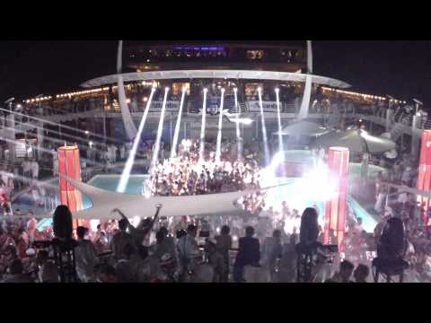 2013 Atlantis Caribbean Cruise - Independence of the Seas - White Party (2 of 3)