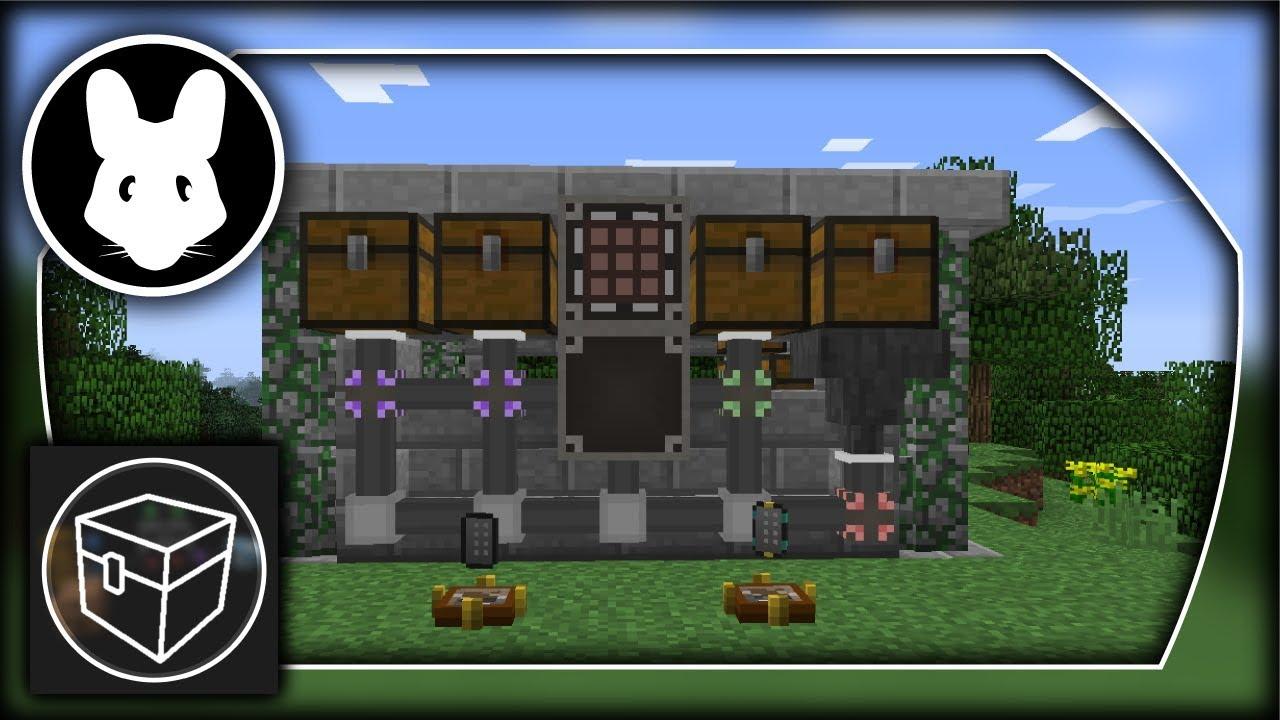 Simple Storage Network mod - Bit-by-Bit for Minecraft! Mischief of Mice!