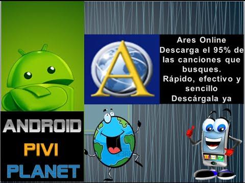 Aplicacion Android para descargar musica gratis Ares facil, efectivo y seguro descargala ya