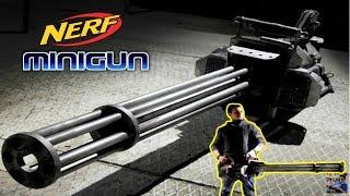 The $1700 Nerf Minigun: The Best Nerf Gun Ever?