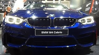 BMW M4 Convertible In Detail & Sound