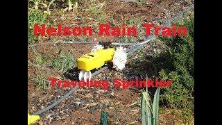 Nelson Rain Train Traveling Sprinkler:  Mods, Hacks, and Review.