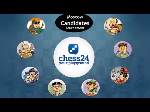 Moscow Candidates 2016 Live Commentary - Round 9